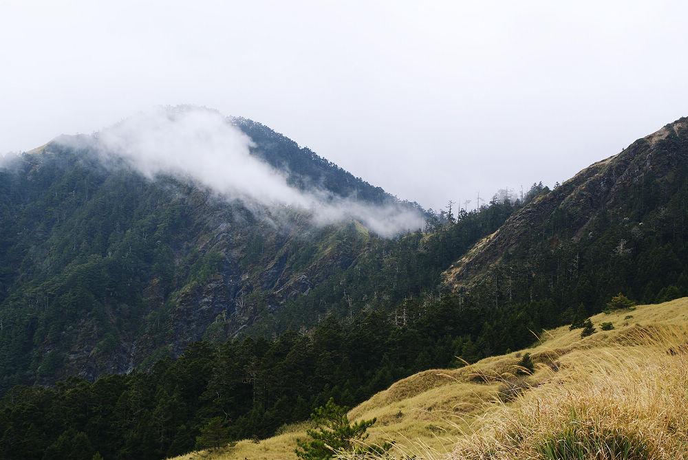 奇萊Day1-12 山巔浮雲流竄