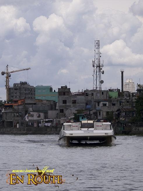 Cruising the Pasig River