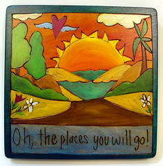 Plaque-Oh The Places We Will Go
