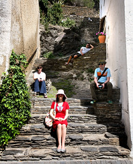 stepped (sgoralnick) Tags: alexis travel vacation spain chad catalonia marty cadaques corrina flybutter