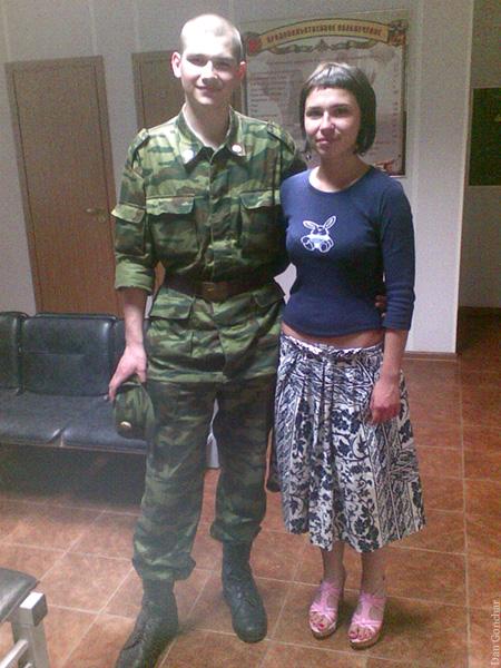 Me at army