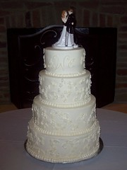 Erin and Aaron's Wedding Cake