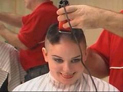 headshave - 2009-06-02_115309 (bob cut) Tags: ladies haircut sexy girl happy bald shave razor headshave