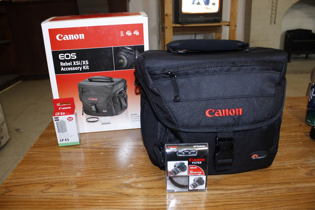 Canon EOS XSi camera bag