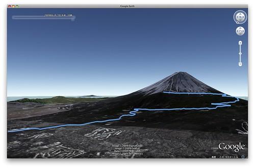 Mt.富士ヒルクライム(Google Earch)