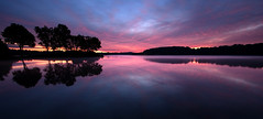 (No_clever_names_left (Michael Lawrence)) Tags: longexposure sunrise pennsylvania 30secondexposure chestercounty downingtown canonefs1022mmf3545usm marshcreeklake canoneos40d marshcreeklakestatepark ~dawn~