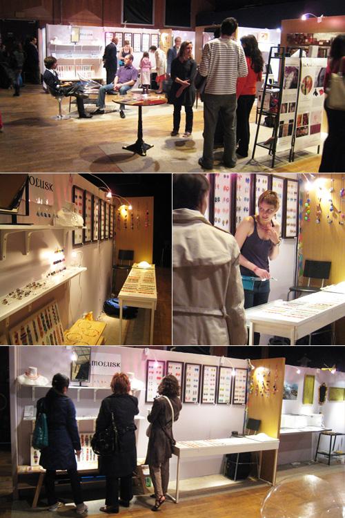 Salon des Métiers d'Art de Pantin 2009 - Stand Molusk