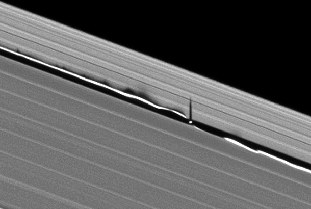 Saturns Rings Do The Wave Bad Astronomy Bad Astronomy
