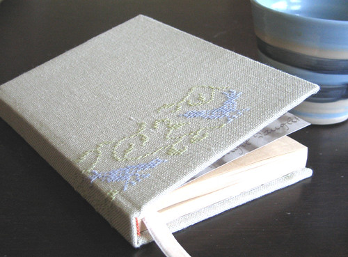 notebook with birds