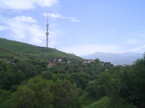Torre do Centro Transmissor de TV de Almaty