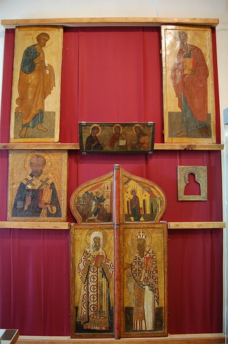 iconostasis, Ferapontov, Russia by AndrewGould, on Flickr