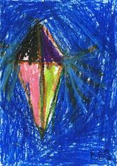 Kite2 (sandu9) Tags: abstract color colour art paintings artists srilanka colombo colourfull sandu smallartists sahansa pastelsandusahansaartistspaintingsartcolorsmallartistsabstractsrilankacolombocolourfull
