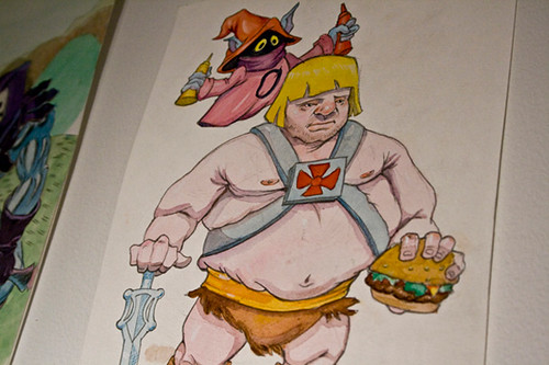 He-Man is een dikzak