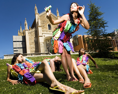 Fashion in Madrid por Havaianas Seasons.