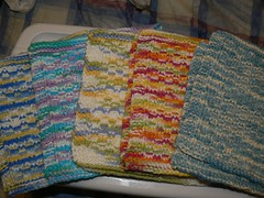 More sets of knitting for the gifts