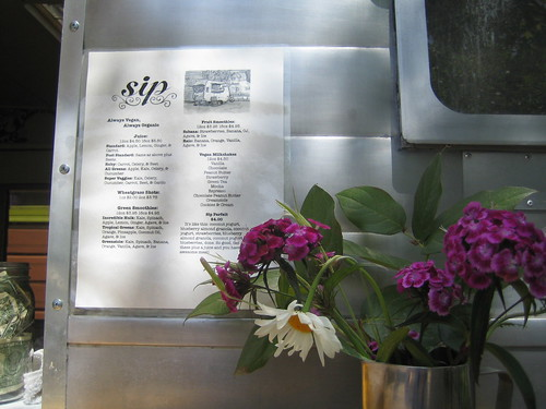 Sip menu