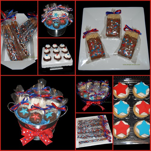 4th of July Simply Sweets treats