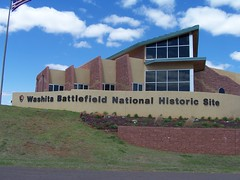 Exploring Oklahoma History: Washita Battlefield National Historic Site Visitors Center