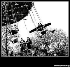 in the nick of time (mdlphotography) Tags: uk bw london kid 2009 winterwonderland