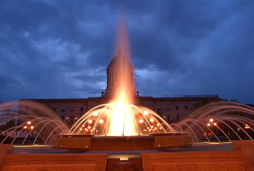 Legislature Fountain