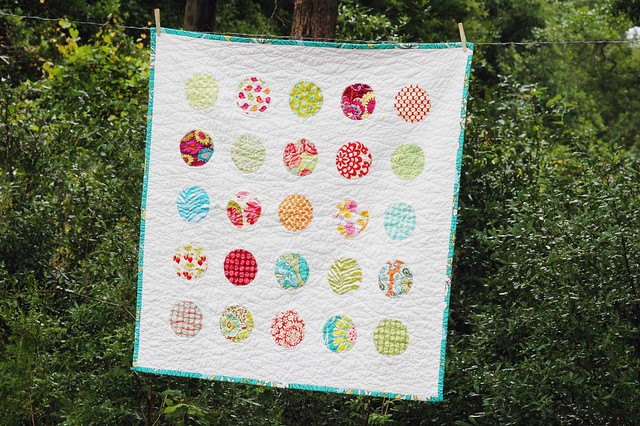 Circles and Waves quilt