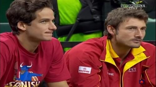 Feliciano Lopez and Juan Carlos Ferrero