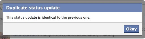 Facebook stops me clearing my updates
