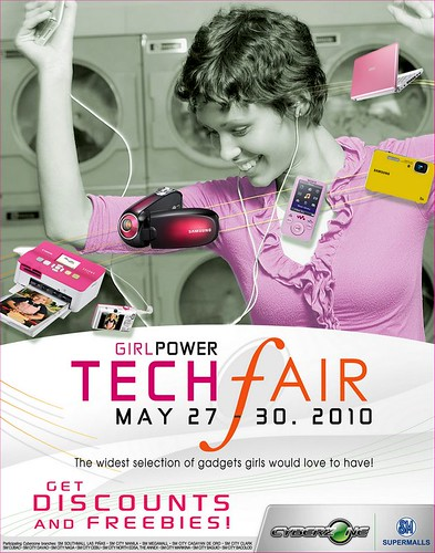 techfair mom poster