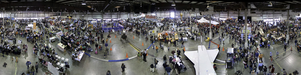 Maker Faire Panoramic