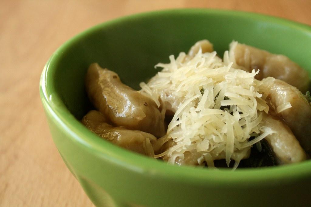 Homemade Porcini Gnocchi