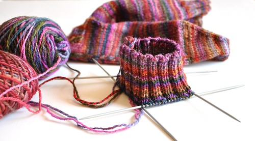 cuff second sock
