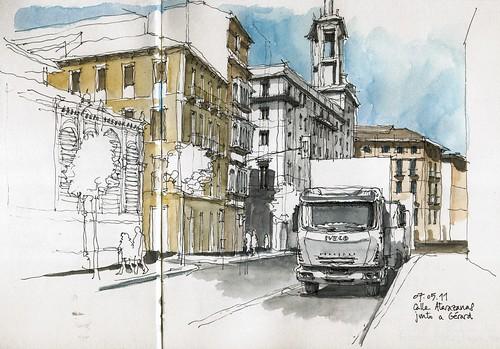 Málaga, Calle Atarazanas