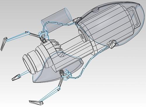 ASHPD (Portal Gun) pepakura model | RPF Costume and Prop