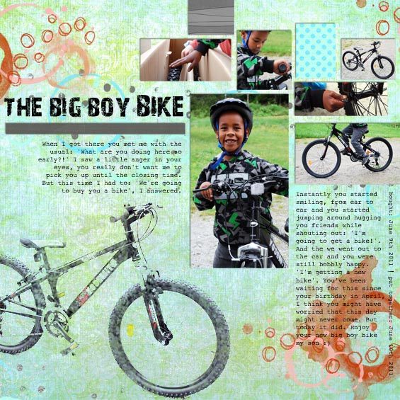 The Big Boy Bike