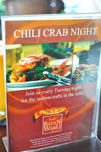 chilli crab?