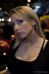 Lisa (dirk glassly) Tags: girls girl female promo pretty femme models babe international attractive chic carshow nec autosport pistonheads racingcarshow