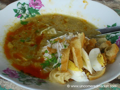 Burmese Morning Soup