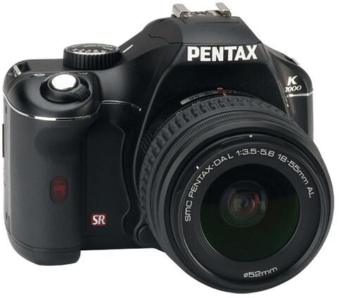 Reflex Pentax K2000 Black 2