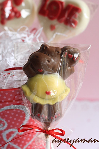 Sevgililer Günü Lolipop Çikolata