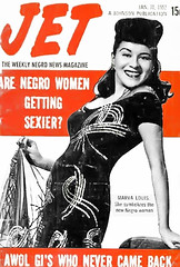 Are Black Women Getting Sexier Like Marva Louis - Jet Magazine, January 31, 1952 (vieilles_annonces) Tags: old people usa black history vintage magazine print scans fifties photos african negro retro ephemera nostalgia photographs american rights 1950s blacks americana colored 50s magazines articles folks oldphotos civilrights newsclipping blackhistory 1952 vintagephotos africans africanamericanhistory blackwomen negroes peopleofcolor vintagephotographs newsclippings vintagemagazine coloredpeople negrohistory negrowomen coloredfolk marvalouis marvalouisspaulding blacknews wifeofjoelouis