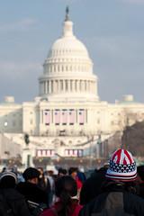 Obama-2317 (timfernando) Tags: usa hat washingtondc washington unitedstates senator president capitol patriotism obama starsandstripes inauguration capitolbuilding 44th barack obamania