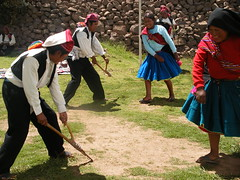 Traditional Taquile Dancing