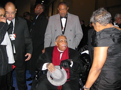 Rev. Joseph Lowery at Obama State Ball