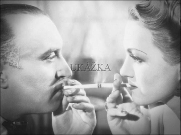 Oldřich Nový a Adina Mandlová vo filme Kristián (1939)