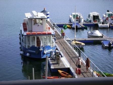 Barco no Alqueva