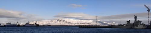 Reykjavik : au port