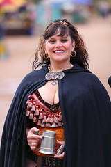 A Sexy Maiden at the Arizona Renaissance Festival 02-08-2009 (gbrummett) Tags: arizona portrait usa sexy girl topv111 festival lady canon wonderful pose amazing with photos bokeh mark candid taken posing az fair x medieval lass ii ren faire 5d cleavage renaissance fes haza hazar 02082009