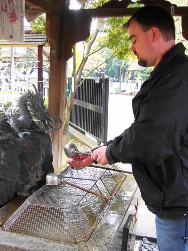 temple wash fountain