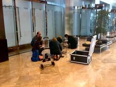 Slip Testing in Canary Wharf