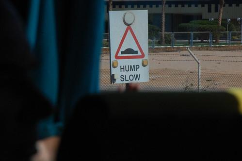Hump slow